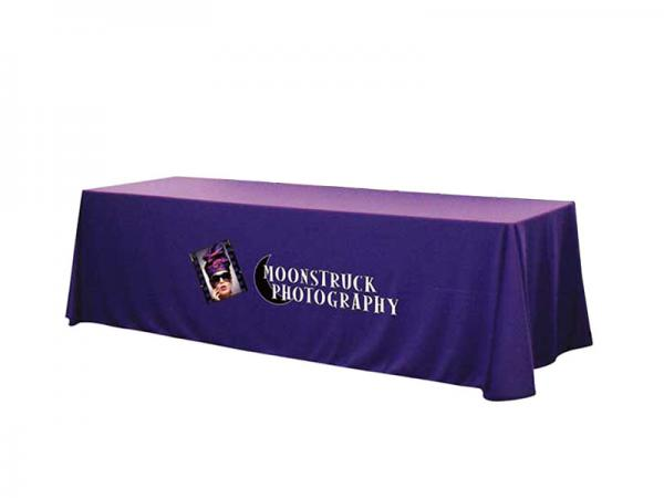 Solid Color Twill 8ft Throw with Full Front Dye Sublimation Image