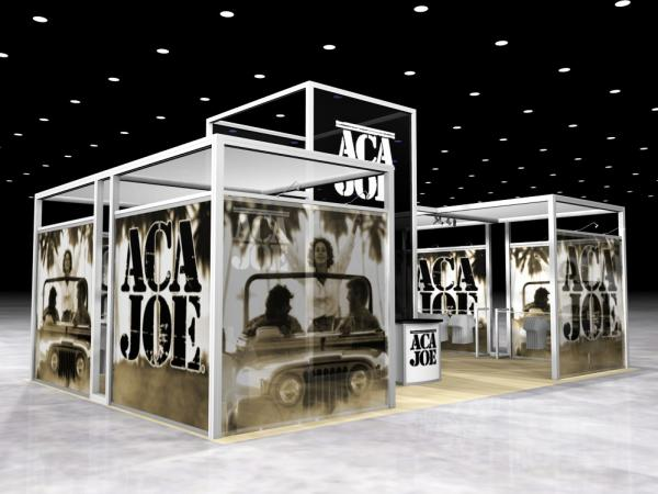 RE-1002 Rental Exhibit / 10� x 10� Inline Trade Show Display � Image 5