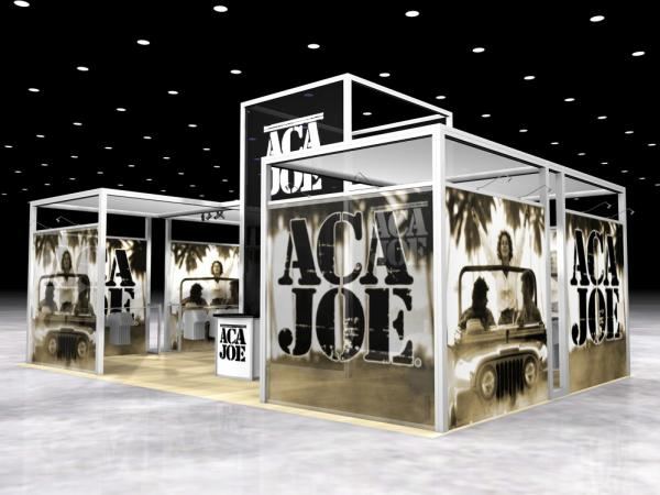 RE-1002 Rental Exhibit / 10� x 10� Inline Trade Show Display � Image 4