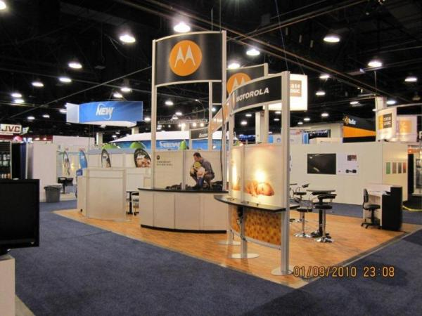 RE-9031 Rental Exhibit / 20� x 30� Island Trade Show Display � Image 3