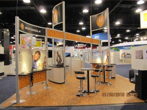 RE-9031 Rental Exhibit / 20� x 30� Island Trade Show Display � Image 5