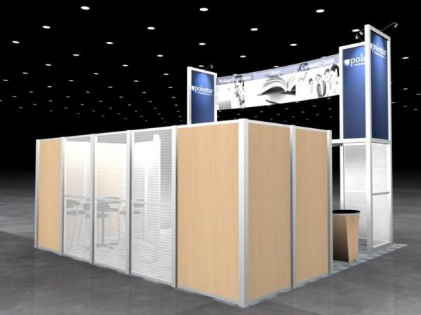 RE-9026 Rental Exhibit / 20� x 20� Island Trade Show Display � Image 5