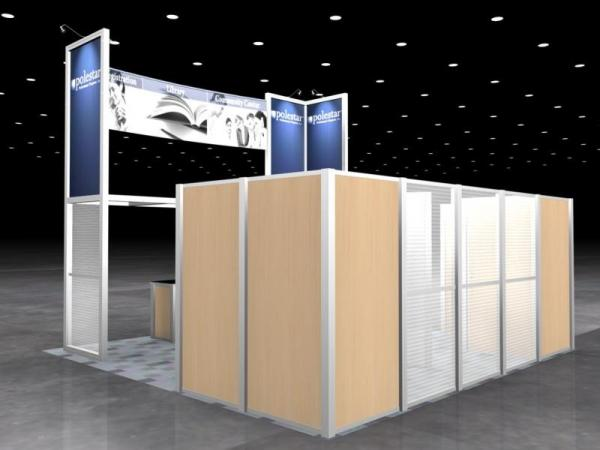 RE-9026 Rental Exhibit / 20� x 20� Island Trade Show Display � Image 6