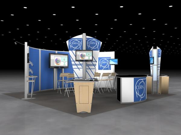 RE-9065 Rental Exhibit / 20' x 20' Island Trade Show Display - Image 3