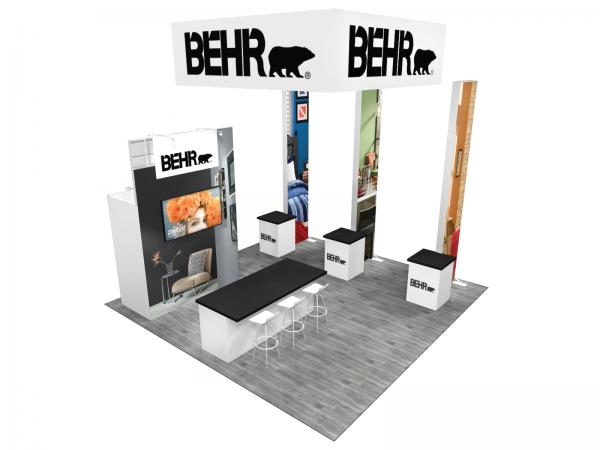 RE-9084 BEHR Trade Show Rental Exhibit -- Image 4