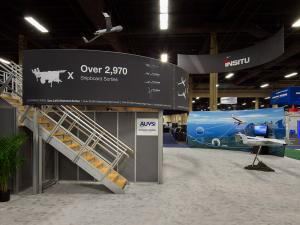 RE-9032 / Large Double Deck Rental Display -- Image 1