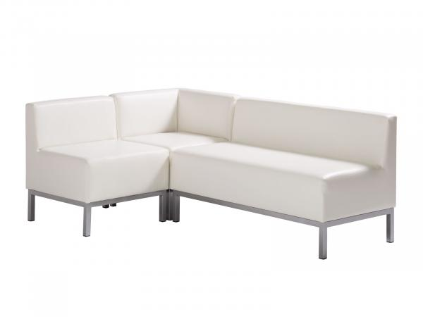 Heathrow Sectional (3 pieces) -- Trade Show Furniture Rental