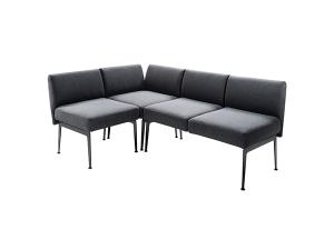 Munich Sectional -- Trade Show Furniture Rental