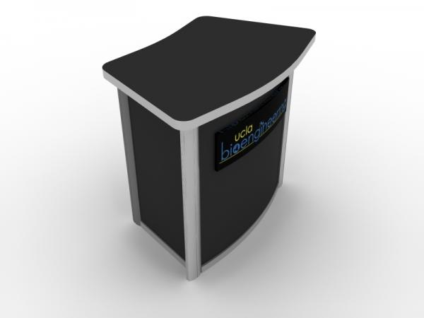 MOD-1294 Modular Pedestal with Locking Storage -- Image 3