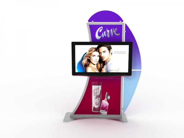 MOD-1515 Monitor Stand for Trade Shows and Events -- Image 2