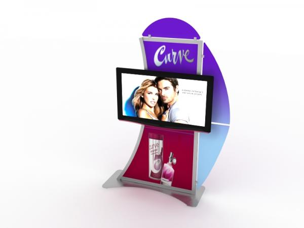 MOD-1515 Monitor Stand for Trade Shows and Events -- Image 3