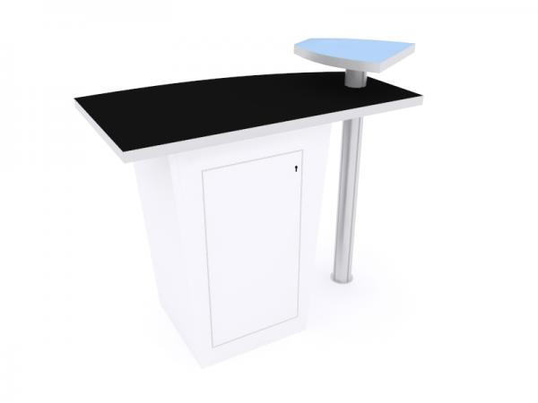 LTK-1115 Trade Show Counter w/ Shelf -- View 3
