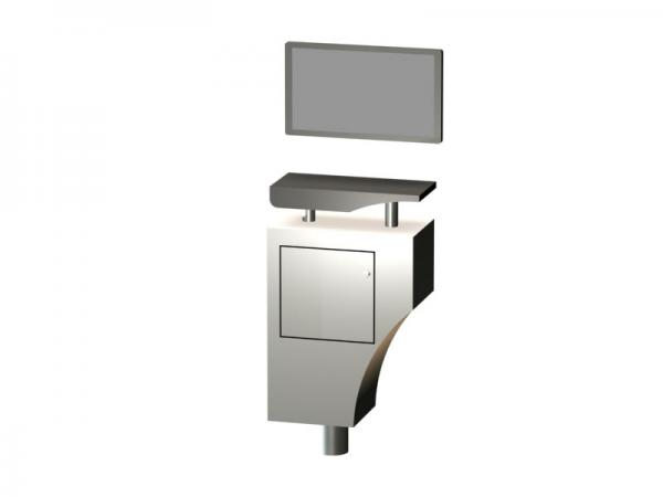 LTK-1148 Trade Show Workstation or Kiosk