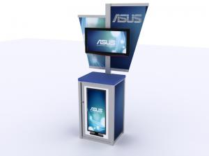 MOD-1206 Trade Show Workstation or Kiosk -- Image 1
