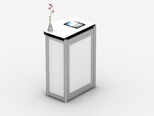 MOD-1288 Modular Pedestal with iPad Tabelt Insert -- Image 3