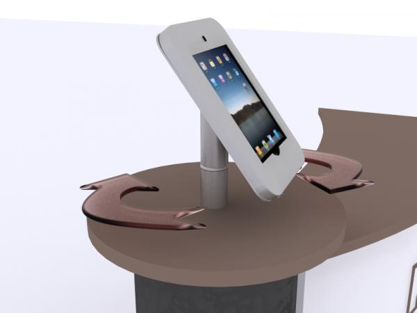 See the MOD-1329 for the iPad Rotating Counter Top Version