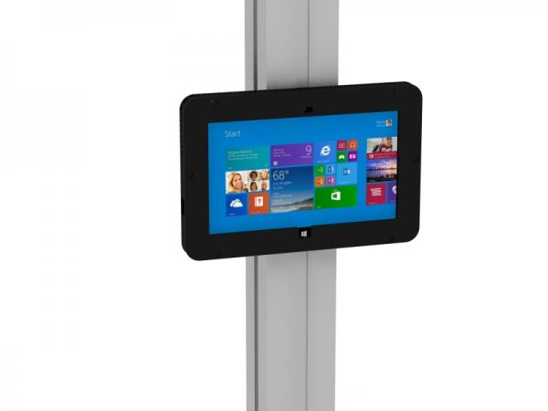 MOD-1318M Secure Surface 2 Enclosure with Extrusion Attachment -- Black