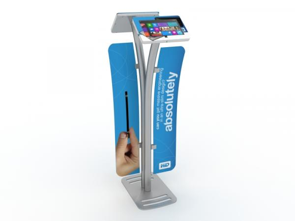MOD-1334M Portable Surface 2 Kiosk with Graphics