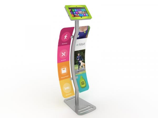 MOD-1339M Portable Surface Kiosk with Graphics