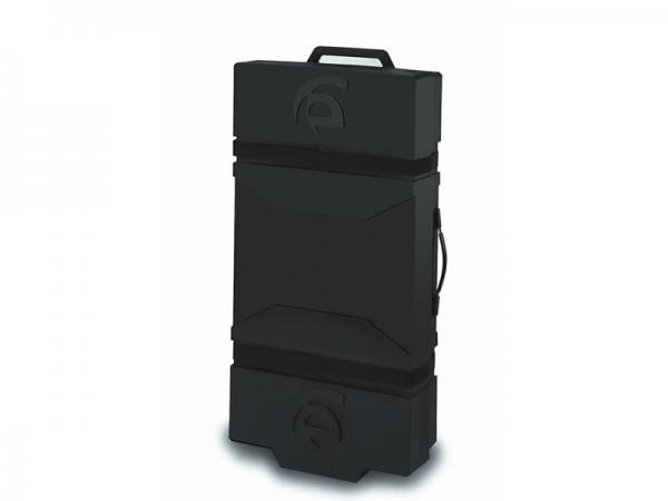 Optional LT-550 Roto-molded Case with Wheels and Reusable Packaging