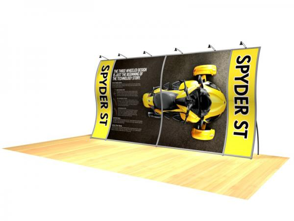 Perfect 20 Portable Hybrid Trade Show Display -- Image 3