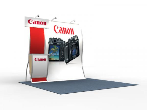 VK-1515 Perfect 10 Portable Hybrid Trade Show Display -- Image 1