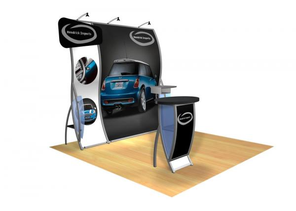 Perfect 10 VK-1505 Portable Hybrid Trade Show Display -- Image 2 (polygon header)