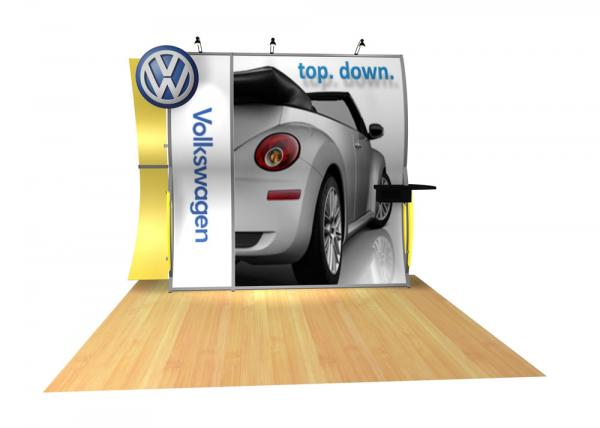 Perfect 10 VK-1507 Portable Hybrid Trade Show Display -- Image 3