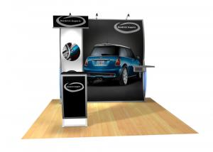 Perfect 10 VK-1504 Portable Hybrid Trade Show Display -- Image 3