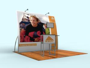 VK-1065 Magellan Miracle Portable Trade Show Exhibit -- Image 1
