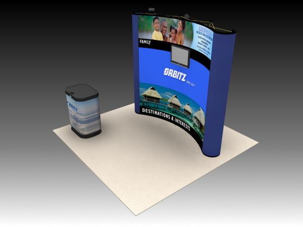 QD-104 Trade Show Pop Up Display -- Image 2