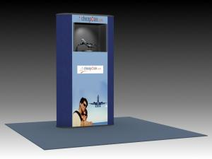 QD-124 Trade Show Pop-up Exhibit -- Image 1