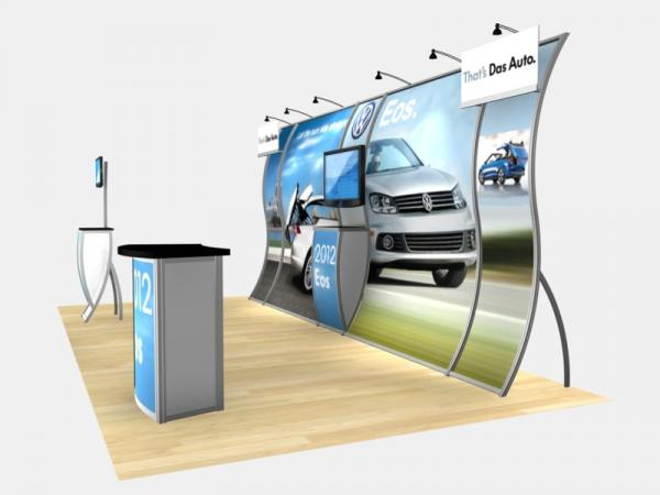 RE-2004 Rental Exhibit / 10' x 20' Inline Trade Show Display � Image 4