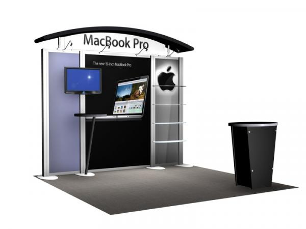 RE-1008 Rental Exhibit / 10� x 10� Inline Trade Show Display � Image 4