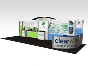RE-3005 / Clearwire Trade Show Exhibit -- Image 1
