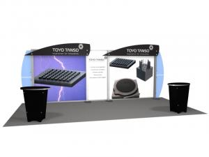 RE-2014 Rental Exhibit / 10� x 20� Inline Trade Show Display � Image 1