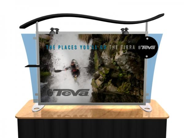 VK-1292 Portable Hybrid Trade Show Table Top Exhibit -- Image 2