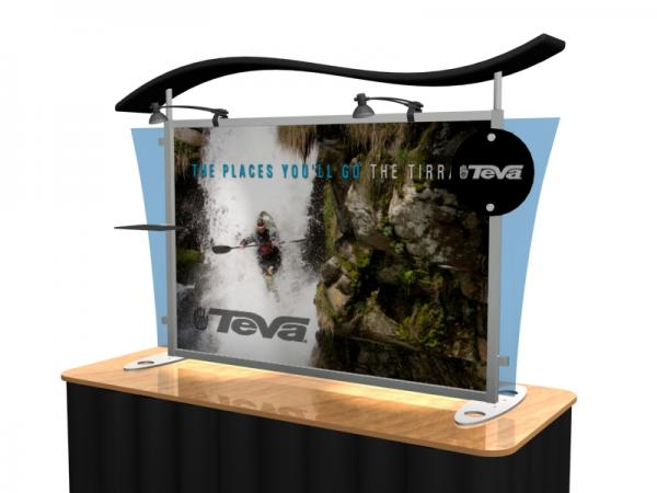 VK-1292 Portable Hybrid Trade Show Table Top Exhibit -- Image 3