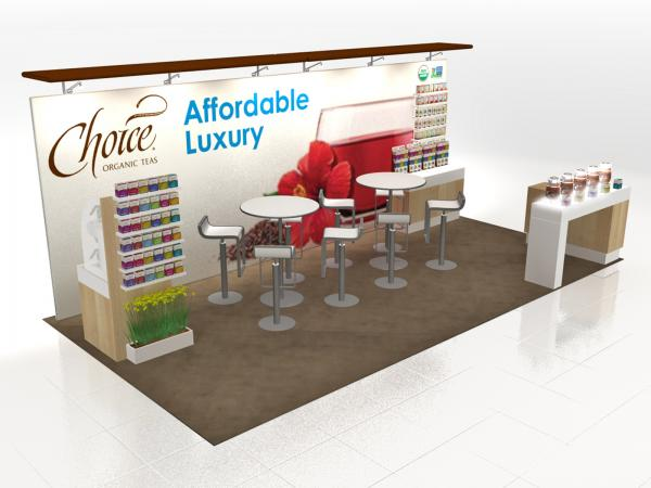VK-2982 Trade Show Island Exhibit -- Image 1